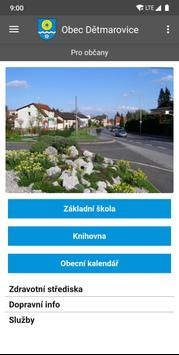 Obec Dětmarovice screenshot 4