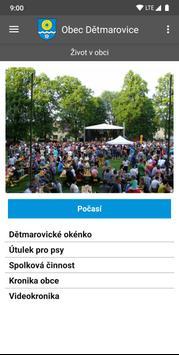 Obec Dětmarovice screenshot 5