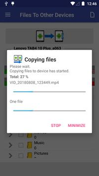 Files To Other Devices تصوير الشاشة 3