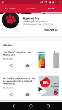 Dotekománie.cz screenshot 2