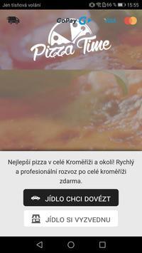 Pizza Time Kroměříž poster