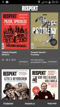 Týdeník Respekt poster
