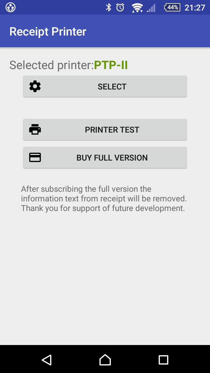 Receipt bluetooth printer for Android - APK Download