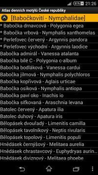 Atlas denních motýlů ČR 海報