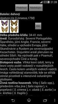 Atlas denních motýlů ČR 截圖 1