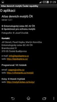 Atlas denních motýlů ČR 截圖 6