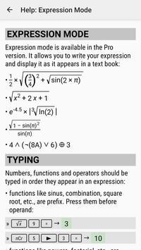 HiPER Scientific Calculator Ekran Görüntüsü 7