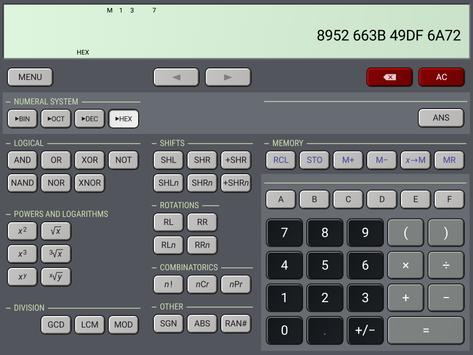 HiPER Scientific Calculator Ekran Görüntüsü 14