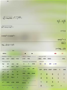HiPER Scientific Calculator Ekran Görüntüsü 15