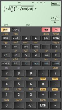 HiPER Scientific Calculator Ekran Görüntüsü 3