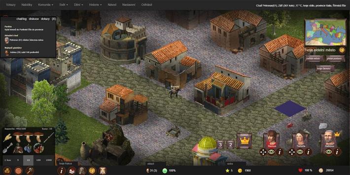 Imperian.cz - online strategie z Římské říše screenshot 2