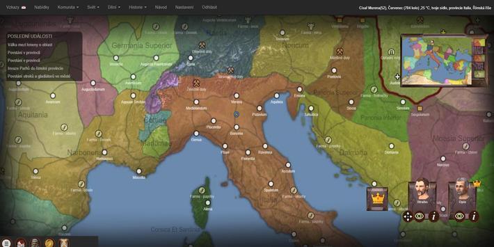 Imperian.cz - online strategie z Římské říše screenshot 3