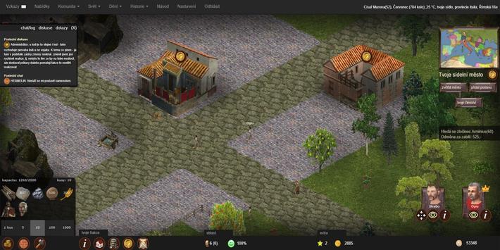 Imperian.cz - online strategie z Římské říše screenshot 7