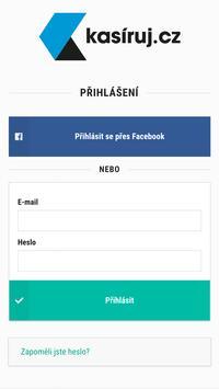Kasíruj.cz - jednoduše, rychle, spolehlivě poster