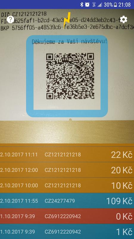 Uctenkovka Ocr Qr Babis For Android Apk Download