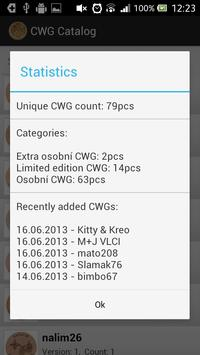 CWG Catalog screenshot 2