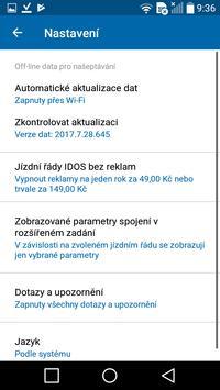 Jízdní řády IDOS captura de pantalla 6