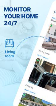 Système de la Sécurité: Surveillance à domicile Affiche