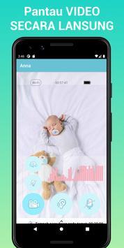 Nancy Baby Monitor: Pengasuh Bayi Melalui WiFi, 3G penulis hantaran