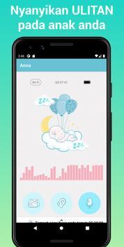 Nancy Baby Monitor: Pengasuh Bayi Melalui WiFi, 3G syot layar 2