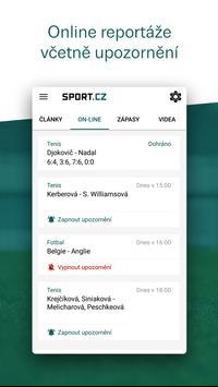 Sport.cz screenshot 1