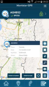 Movistar GPS screenshot 1