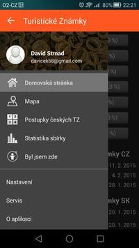 Turistické Známky captura de pantalla 1