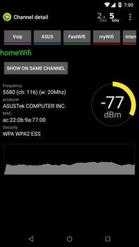 Wifi Analyzer screenshot 5