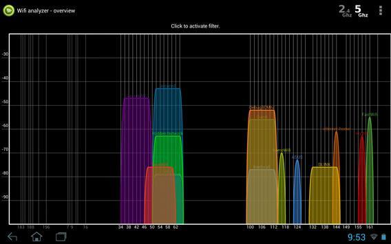Wifi Analyzer screenshot 8