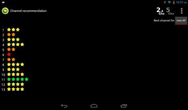 Wifi Analyzer screenshot 16