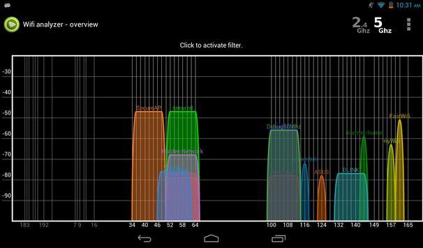 Wifi Analyzer screenshot 15
