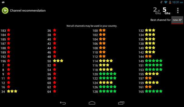 Wifi Analyzer screenshot 17