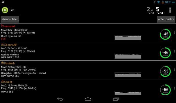 Wifi Analyzer screenshot 18