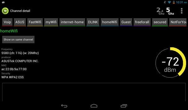 Wifi Analyzer screenshot 19