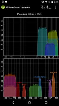 Analizador WiFi captura de pantalla 1