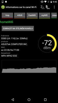 Analyseur WiFi capture d'écran 5