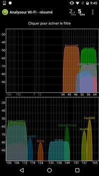 Analyseur WiFi capture d'écran 1