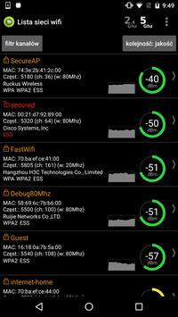 Wifi Analyzer screenshot 4