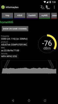 Analisador de WiFi imagem de tela 3