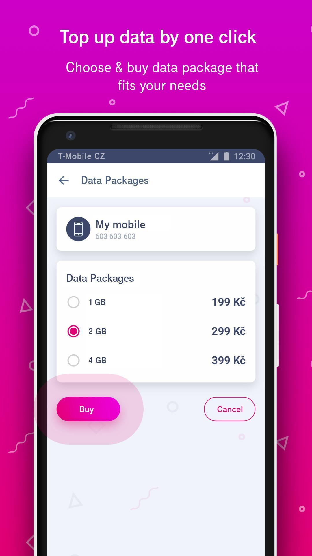 Můj T-Mobile for Android - APK Download