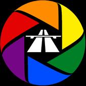 Dash Cam Travel icon