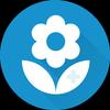 FlowerChecker+, plant identify icon