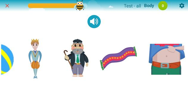 Včelka - osobní trenér čtení screenshot 1