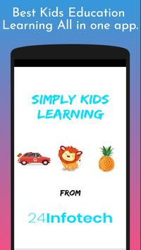 Simply Kids Learning App poster