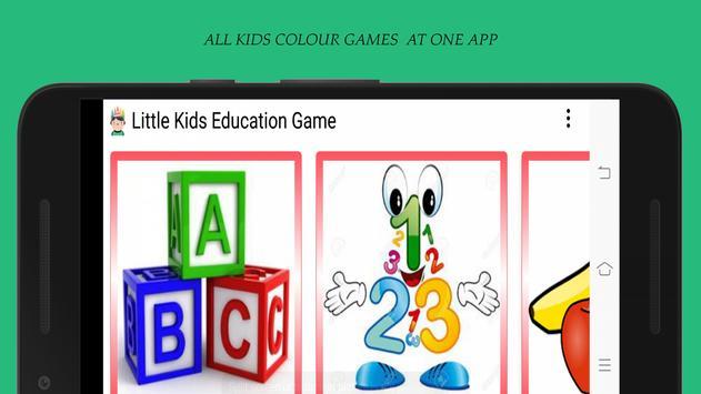 Little Kids Education Game poster