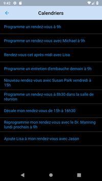 Commandes pour Siri screenshot 1