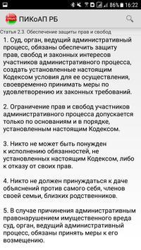 ПИКоАП РБ screenshot 3