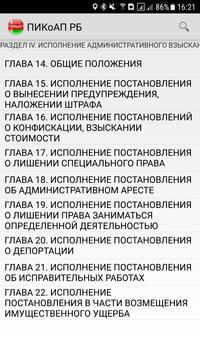 ПИКоАП РБ screenshot 1