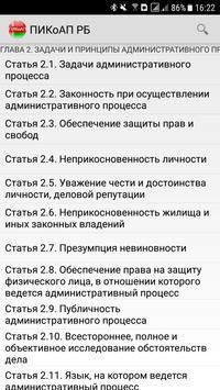 ПИКоАП РБ screenshot 2