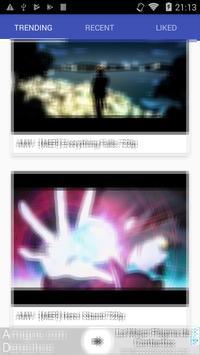 AMV anime music videos poster